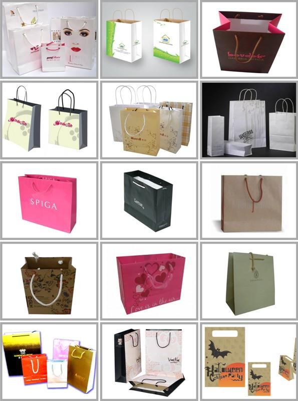 In túi giấy cho shop thời trang giá rẻ 2