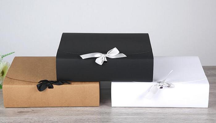 In hộp giấy đựng áo sơ mi cho shop thời trang - hinh 1