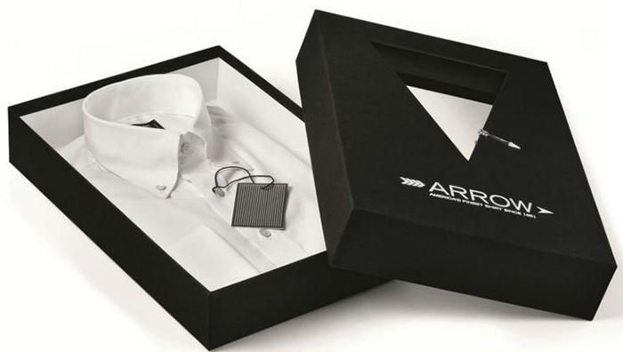 In hộp giấy đựng áo sơ mi cho shop thời trang - hinh 2