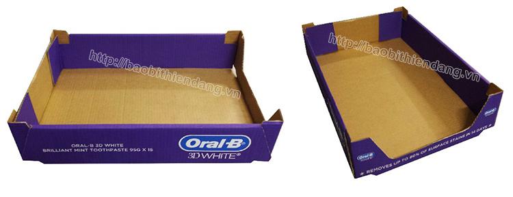 Sản xuất khay giấy, vỉ giấy,. trưng bày sản phẩm - hinh 1