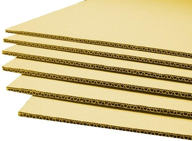 Cấu trúc của giấy sóng carton 5 lớp