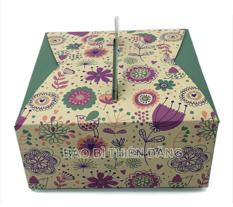 In hộp bánh sinh nhật đẹp, sang trọng với giá thành rẻ - hinh 3