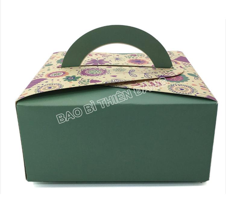 In hộp bánh sinh nhật đẹp, sang trọng với giá thành rẻ - hinh 4