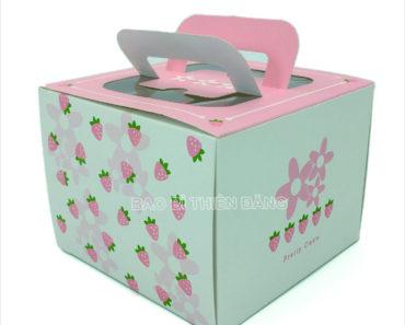 In hộp bánh sinh nhật đẹp, sang trọng với giá thành rẻ - hinh 1