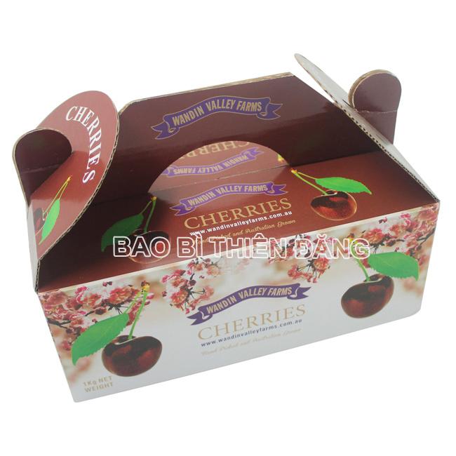 In hộp giấy đựng trái Cherry - hinh 1
