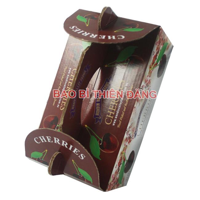 In hộp giấy đựng trái Cherry - hinh 2
