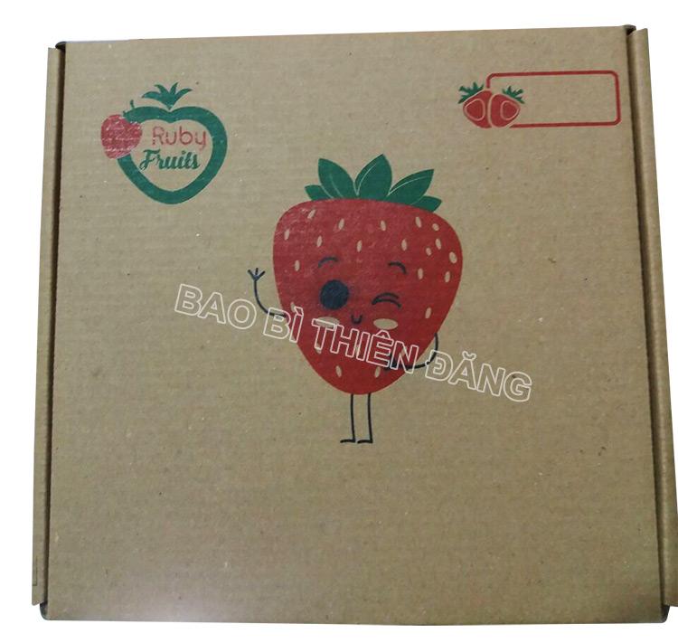 Sản xuất hộp carton đựng dâu tây giá rẻ tại tphcm - hinh 3