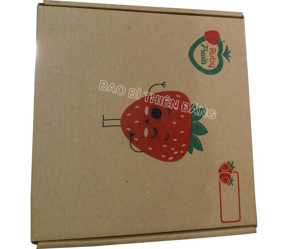 Sản xuất hộp carton đựng dâu tây giá rẻ tại tphcm - hinh 2