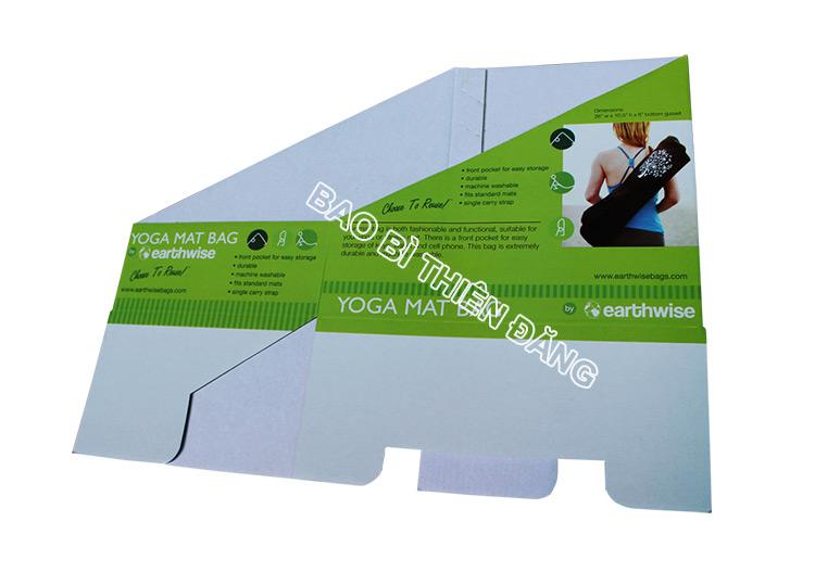 In khay giấy trưng bày dụng cụ tập YOGA - hinh 5