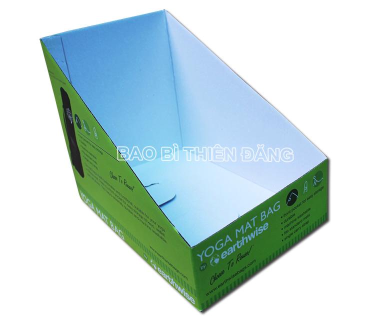 In khay giấy trưng bày dụng cụ tập YOGA - hinh 3