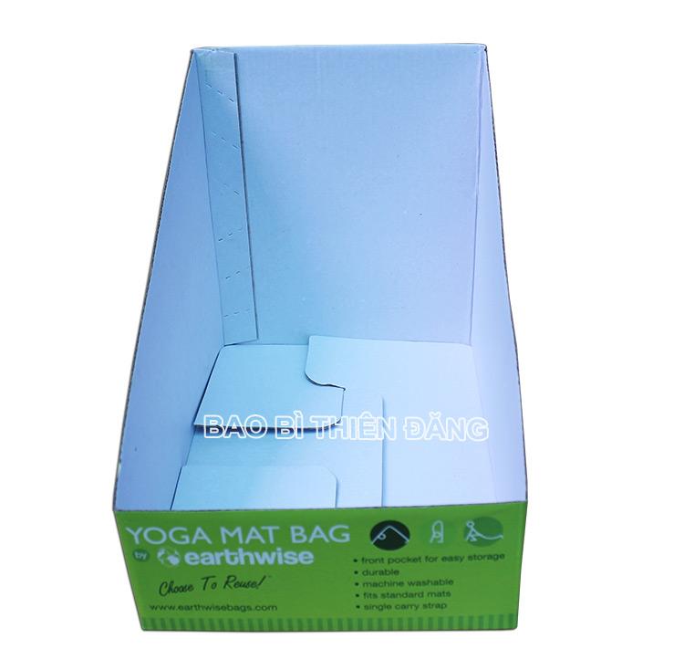 In khay giấy trưng bày dụng cụ tập YOGA - hinh 1