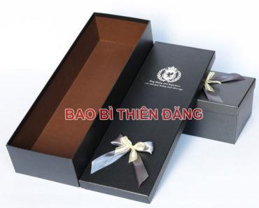 In hộp giấy cao cấp đựng quà tặng sang trọng - hinh 3